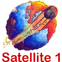 Satellite 1 Logo
